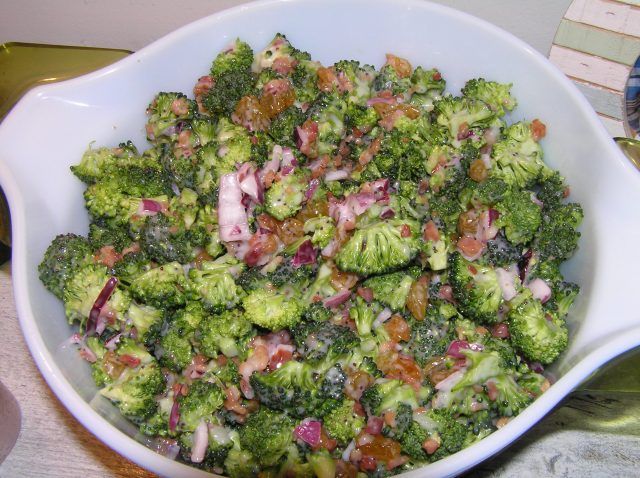 Viola..Broccoli Salad